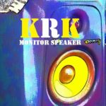 KRK-Monitor Speaker-with_effect