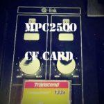 AKAI MPC2500に使用出来るCFカードと使用出来ないCFカードの違いは?